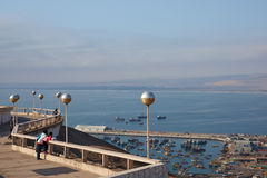 Arica View Point Royalty Free Stock Photography