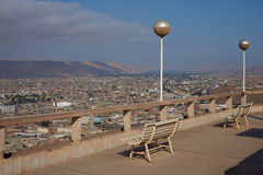 Arica View Point Royalty Free Stock Photos