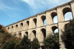 Ariccia Bridge. The bridge in Ariccia, Lazio Stock Image