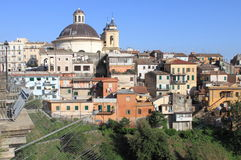 Ariccia, a little town near Rome. Italy royalty free stock images