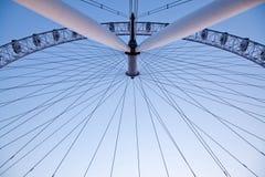 Arichitecture of London Eye Stock Photography