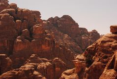 Arid, Canyon, Daylight Royalty Free Stock Photos