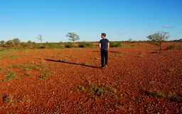 Arid Central Australia Royalty Free Stock Images