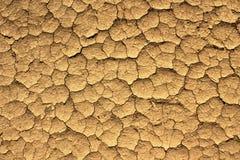 Arid crack earth background Stock Image