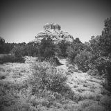 Arid desert landscape of Sedona USA Royalty Free Stock Image