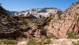 Arid Desert of Zion Royalty Free Stock Photo