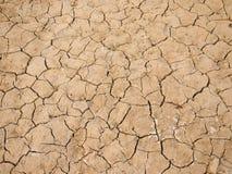 Arid  Earth,China. Arid cracked earth - China drought Royalty Free Stock Image
