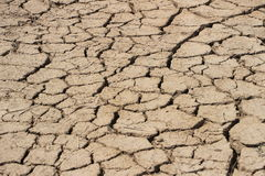 Arid  Earth,China Stock Image