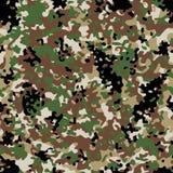 Arid Flectarn Camouflage seamless patterns. Vector Illustration Royalty Free Stock Photography