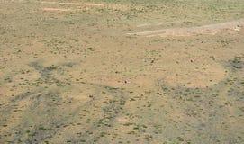 Arid grassland. It is a arid grassland Stock Photo