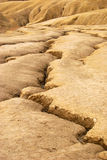 Arid ground. Near mud volcanoes in Romania Stock Photography