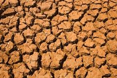Arid  ground surface Stock Image