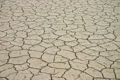 Arid Lake Bed Royalty Free Stock Images