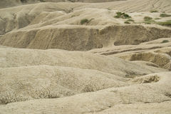 Arid land dunes Royalty Free Stock Image