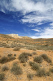 Arid landscape Stock Photo