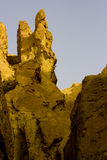 Arid landscape. Near Sahara Desert Royalty Free Stock Photos