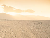 Arid landscape Royalty Free Stock Photos