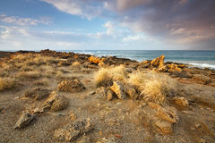 Arid landscape of Crete, Greece. Stock Photography