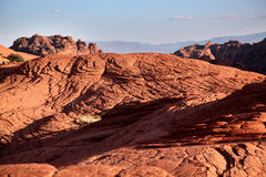The arid landscape of Snow Canyon State Park in Utah Royalty Free Stock Image