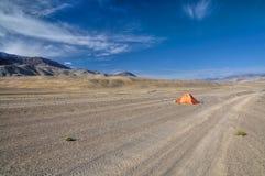 Arid landscape in Tajikistan Stock Photos