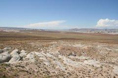 Arid landscape, USA. Stock Images