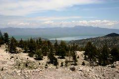 Arid mountain scene - Turkey royalty free stock photo