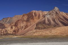 Arid Mountains of Ladakh Stock Photography