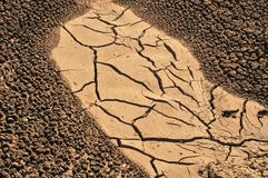 Arid Soil Royalty Free Stock Photography