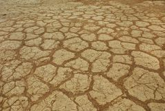 Arid soil Royalty Free Stock Photo