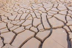 Arid soil. In summer season Stock Photo