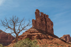 Arid Valley of the Gods Royalty Free Stock Photo