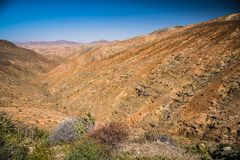 Arid Valley Stock Images
