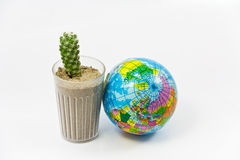 Arid world Stock Image