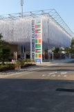 arid zones cluster Milan,milano expo 2015 Royalty Free Stock Photography