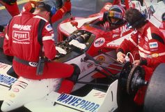 Arie Luyendyk Indy Car Driver photographie stock