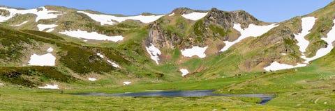 ariege βουνό λιμνών της Γαλλίας Στοκ φωτογραφίες με δικαίωμα ελεύθερης χρήσης