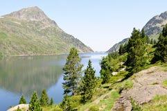 ariege France jeziora góra Zdjęcia Royalty Free