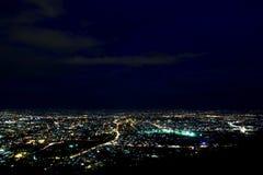 Ariel-Ansicht von Chiang Mai Lizenzfreies Stockfoto