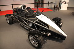 Ariel Atom Sportscar. ESSEN, GERMANY - NOV 29: Ariel Atom Sportscar shown at the Essen Motor Show in Essen, Germany, on November 29, 2011 Stock Image