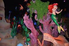 Ariel the little Mermaid - Magic Kingdom Walt Disney World toys - Under the sea Stock Photo