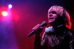 Ariel Pinks führt frequentiertes Graffitiband an Primavera-Club-Festival 2012 durch Lizenzfreie Stockfotos