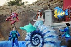 Ariel in Shanghai Disneyland stockfoto