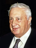 Ariel Sharon. Attends an event in Jerusalem, August, 1988 Royalty Free Stock Images