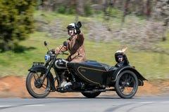 Ariel VB 600 motorcykel 1948 Royaltyfri Foto