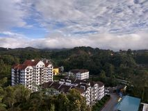 Ariel View di Cameron Highlands Immagine Stock