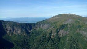 Ariel View di Misty Fjords nella foresta nazionale di Ketchikan Alaska Tongass immagine stock