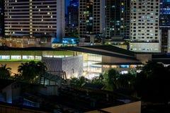 Ariel view of Greenbelt Shopping Mall in Makati, Metro Manila, Philippines. Manila, Philippines - Feb 24, 2018 : Ariel view of Greenbelt Shopping Mall in Makati Royalty Free Stock Image