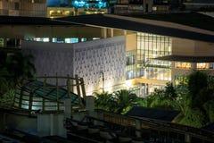 Ariel view of Greenbelt Shopping Mall in Makati, Metro Manila, Philippines. Manila, Philippines - Feb 24, 2018 : Ariel view of Greenbelt Shopping Mall in Makati Royalty Free Stock Photography