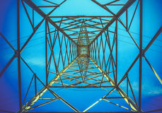 Ariel view of pylon Royalty Free Stock Photos