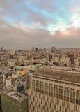 Arielmening van Osaka tijdens dag stock afbeeldingen